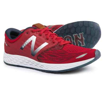 New Balance Fresh Foam Zante v3 Ballpark Running Shoes (For Men) in Team Red/Metallic Silver/Pigment - Closeouts