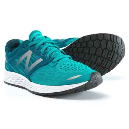 New Balance Fresh Foam Zante V3 Ballpark Running Shoes (For Women) in Pisces/Moroccan Blue/White - Closeouts