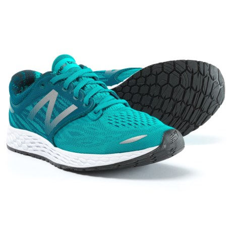 New Balance Fresh Foam Zante V3 Ballpark Running Shoes (For Women) in Pisces/Moroccan Blue/White