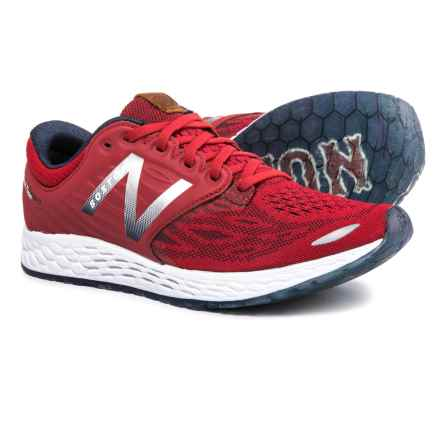 New Balance Fresh Foam® Zante v3 Ballpark Running Shoes (For Women) in Team Red/Metallic Silver/Pigment - Closeouts