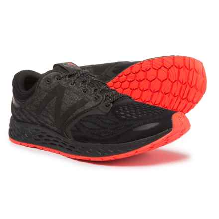 New Balance Fresh Foam® Zante v3 Brooklyn Running Shoes (For Men) in Black/Alpha Orange - Closeouts