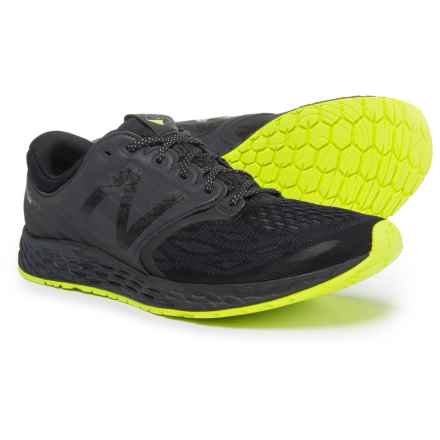 New Balance Fresh Foam® Zante v3 Manhattan Running Shoes (For Men) in Black/Hi-Lite - Closeouts