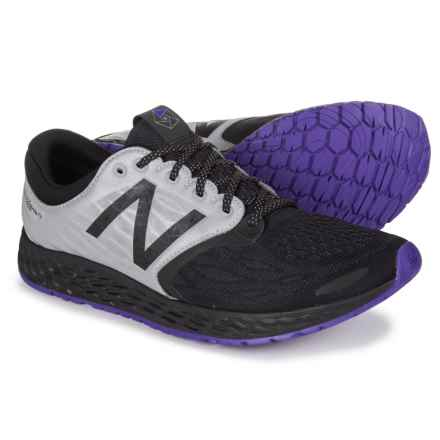 New Balance Fresh Foam® Zante v3 Queens Running Shoes (For Men) in Black/Deep Violet - Closeouts