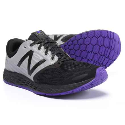 New Balance Fresh Foam® Zante v3 Queens Running Shoes (For Women) in Black/Deep Violet - Closeouts