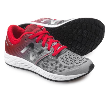 New Balance Fresh Foam Zante v3 Running Shoes (For Little and Big Boys) in Grey