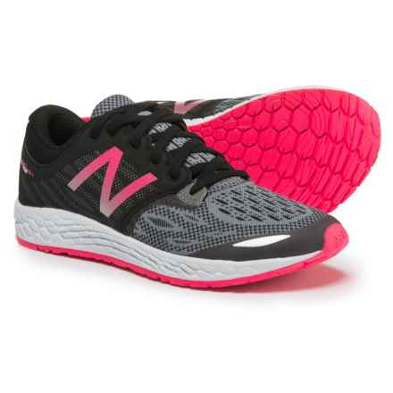New Balance Fresh Foam® Zante v3 Running Shoes (For Little and Big Girls) in Black - Closeouts
