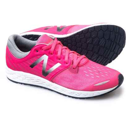 New Balance Fresh Foam® Zante v3 Running Shoes (For Little and Big Girls) in Pink - Closeouts