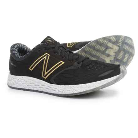 New Balance Fresh Foam Zante V3 Running Shoes (For Men) in Black/Gold - Closeouts