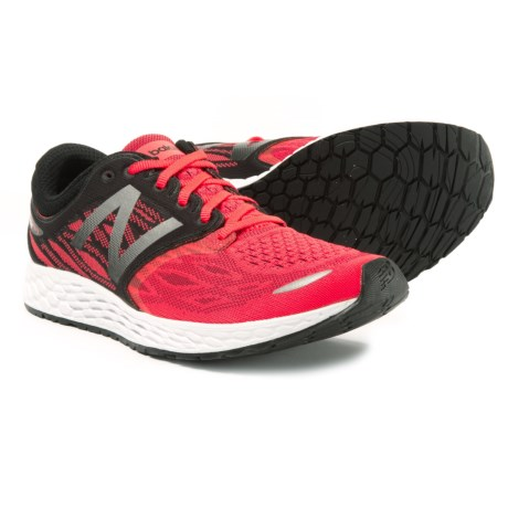 New Balance Fresh Foam Zante V3 Running Shoes (For Men) in Energy Red/Black/White
