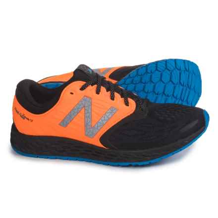 New Balance Fresh Foam® Zante v3 Staten Island Running Shoes (For Women) in Black/Electric Blue - Closeouts
