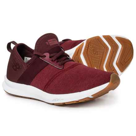 FuelCore NERGIZE Cross-Training Shoes (For Women) in Burgundy/White - Closeouts