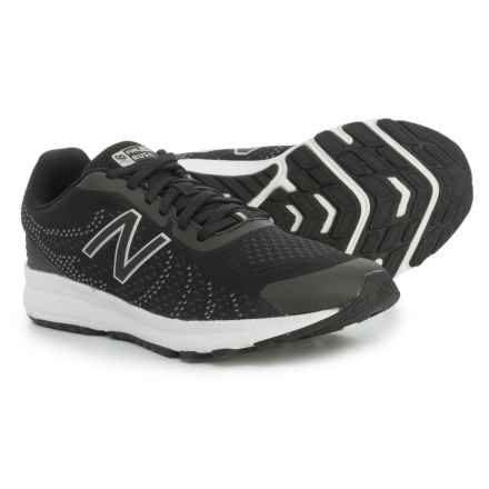 New Balance FuelCore Rush V3 Running Shoes (For Little and Big Boys) in Black - Closeouts
