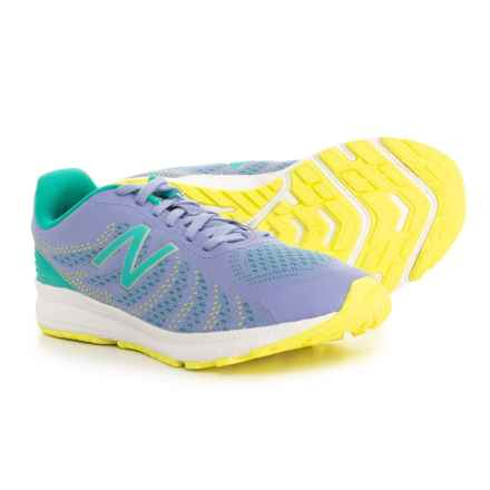 New Balance FuelCore Rush V3 Running Shoes (For Little and Big Girls) in Tidepool/Ice Violet - Closeouts