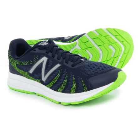 New Balance FuelCore Rush V3 Running Shoes (For Men) in Navy/Lime - Closeouts