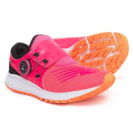 New Balance FuelCore Sonic Running Shoes (For Women) in Alpha Pink/Black/White - Closeouts