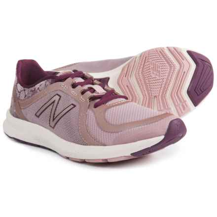 New Balance FuelCore Transform v2 Cross-Training Shoes (For Women) in Faded Rose/Dark Mulberry - Closeouts