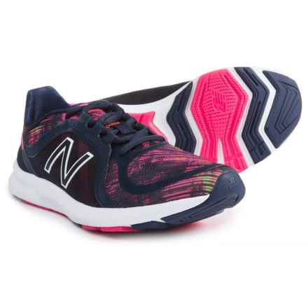 New Balance FuelCore Transform v2 Cross-Training Shoes (For Women) in Pigment/Alpha Pink/Vivid Tangerine - Closeouts