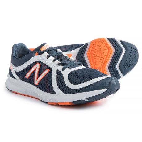 New Balance FuelCore Transform v2 Cross-Training Shoes (For Women) in Vintage Indigo/White/Vivid Tangerine