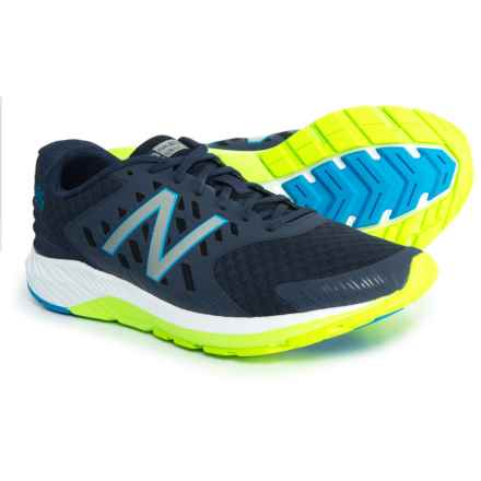 New Balance FuelCore Urge V2 Running Shoes (For Men) in Dark Cyclone/Energy Lime - Closeouts