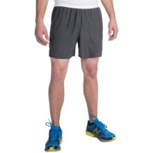 "New Balance Go 2 Running Shorts - 5"" (For Men) in Magnet - Closeouts"