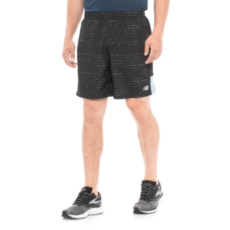 "New Balance Graphic Shorts - 7"" (For Men) in Clear Sky"