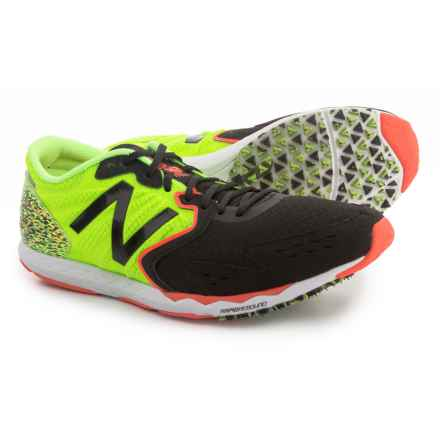 New Balance Hanzo S Running Shoes (For Men) in Lime/Black - Closeouts