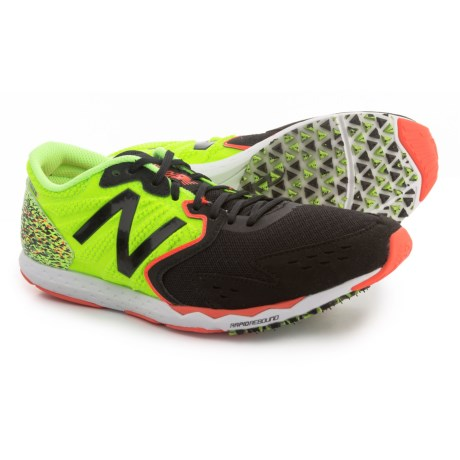 New Balance Hanzo S Running Shoes (For Men) in Lime/Black