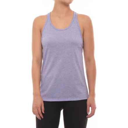 New Balance Heather Tech Racerback Tank Top (For Women) in Ice Violet Heather - Closeouts