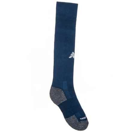 High-Performance All-Sport Socks - Over the Calf (For Kids) in Navy - Closeouts
