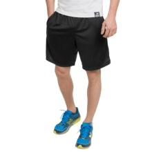 "New Balance High-Performance Knit Shorts - 9"" (For Men) in Black - Closeouts"