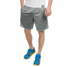 """New Balance High-Performance Knit Shorts - 9"""" (For Men) in Heather Grey - Closeouts"""