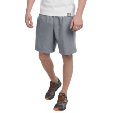 "New Balance High-Performance Shorts - 9"" (For Men) in Silver Mink - Closeouts"