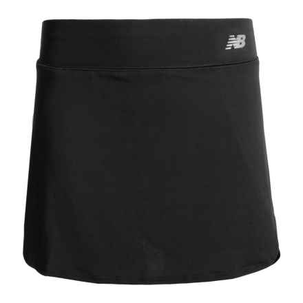 New Balance High-Performance Skort (For Big Girls) in Black - Closeouts