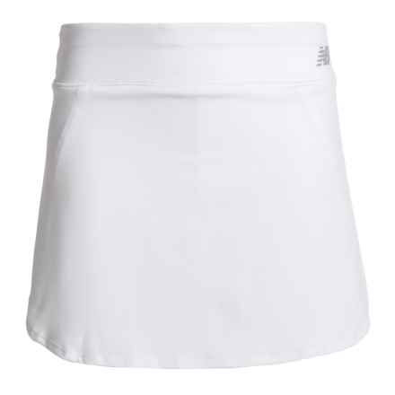 New Balance High-Performance Skort (For Big Girls) in White - Closeouts