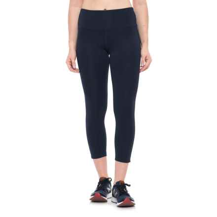 New Balance High-Waist Cropped Leggings (For Women) in Pigment - Closeouts