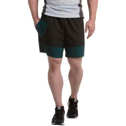 New Balance Hybrid Tech Shorts (For Men) in Black - Closeouts