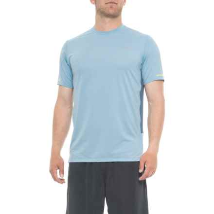 New Balance Ice 2.0 T-Shirt - Short Sleeve (For Men) in Clear Sky - Closeouts