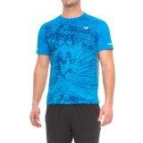 New Balance Ice Printed T-Shirt - Short Sleeve (For Men)