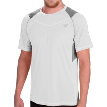 New Balance Ice Running Shirt - Short Sleeve (For Men) in White - Closeouts