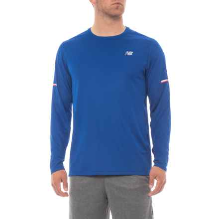 New Balance Ice Shirt - Long Sleeve (For Men) in Team Royal - Closeouts