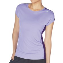 New Balance ICEFIL Shirt - Short Sleeve (For Women) in Violet Tulip - Closeouts