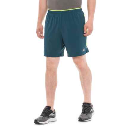 New Balance Impact Running Shorts - Built-In Lining (For Men) in North Sea - Closeouts