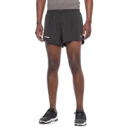 New Balance Impact Shorts - Built-In Briefs (For Men) in Black - Closeouts
