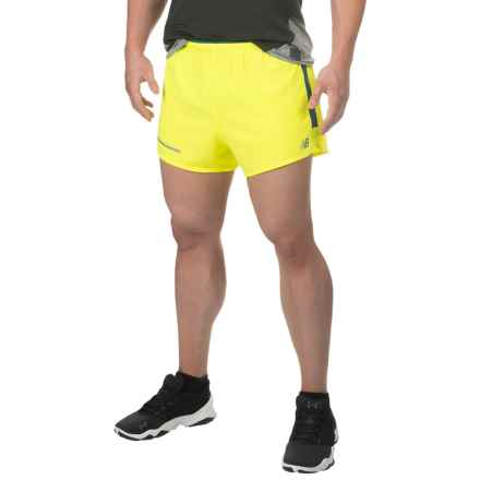 New Balance Impact Shorts - Built-In Briefs (For Men) in Firefly - Closeouts
