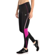 New Balance Impact Tights (For Women) in Azalea - Closeouts