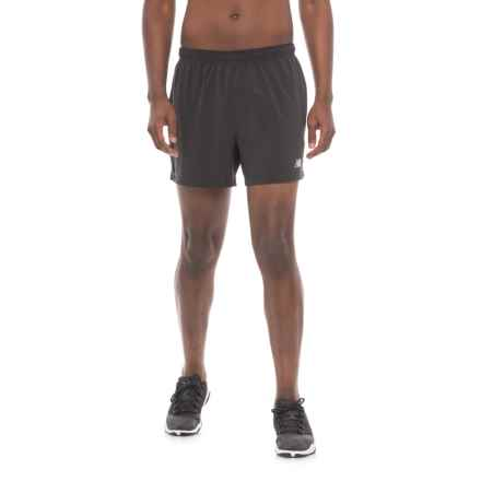 New Balance Impact Track Shorts - Built-In Briefs (For Men) in Black - Closeouts
