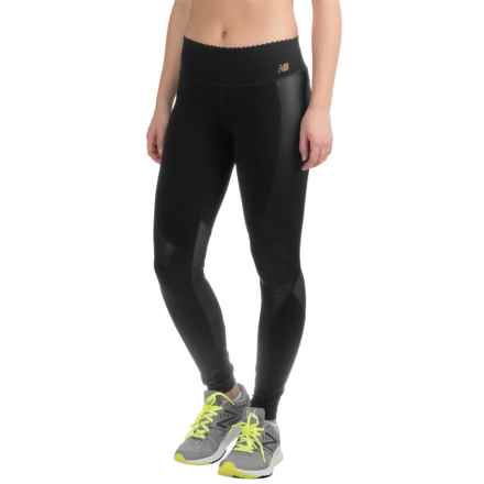 New Balance Intensity Running Tights (For Women) in Black - Closeouts