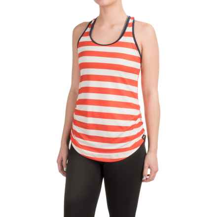 New Balance J Crew The Perfect Tank Top - Racerback (For Women) in Firebaps - Closeouts