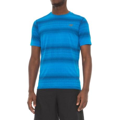 New Balance Kairosport T-Shirt - Short Sleeve (For Men) in Atlantic Heather