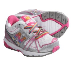 New Balance KJ689 Running Shoes (For Infants and Toddlers) in Silver/Pink